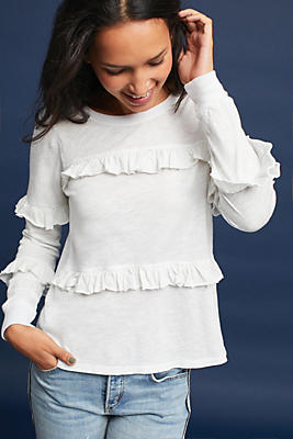 Slide View: 1: Lianne Ruffled Top