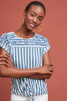 Wendy Striped Top by W5 Concepts