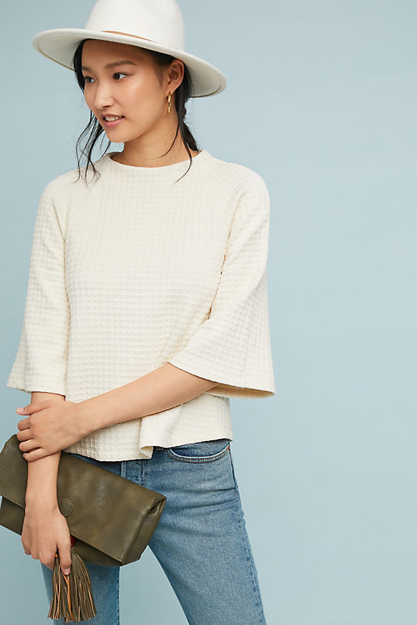 Winnipeg Knit Top - White, Size M