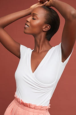Slide View: 1: Bayadere Wrap Top