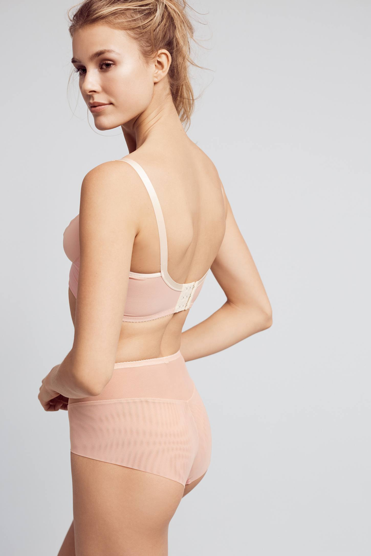 Slide View: 3: Fortnight Seamless High-Waisted Briefs