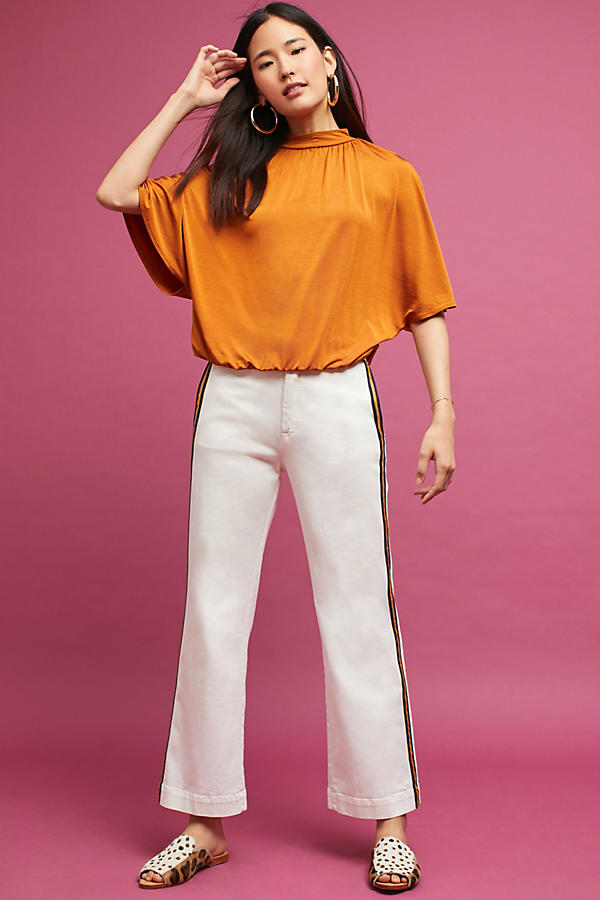 Slide View: 2: Dolman Shine Top
