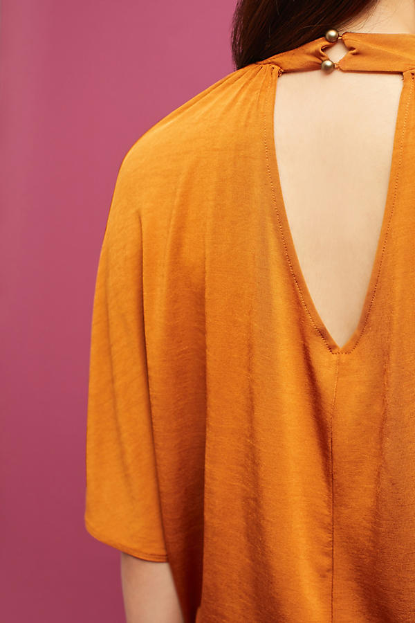 Slide View: 3: Dolman Shine Top