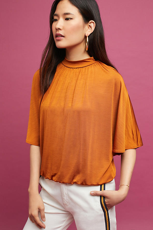 Slide View: 1: Dolman Shine Top