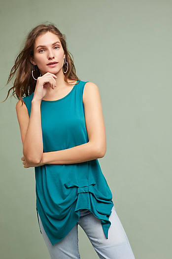 Gathered Pleat Tank