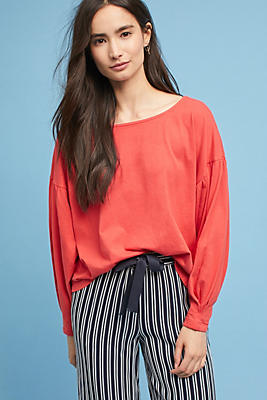Slide View: 1: Shae Boat Neck Top