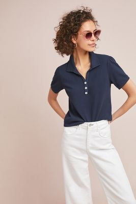 Bristol Collared Top by T.La