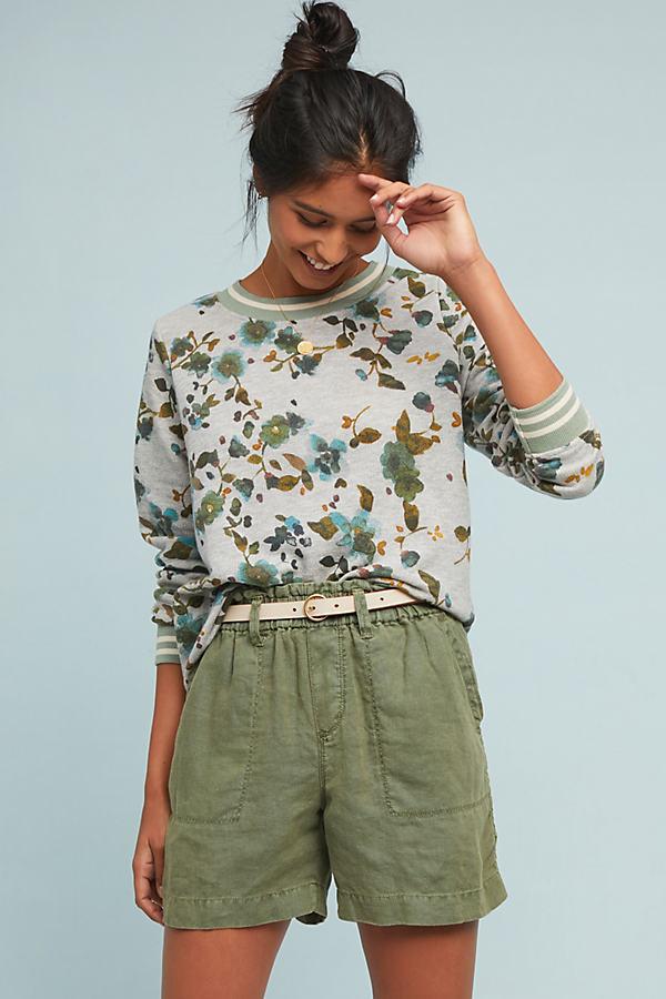 Sporty Trimmed Sweatshirt - Assorted, Size L