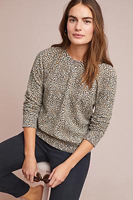 Slide View: 1: Leopard Sweatshirt