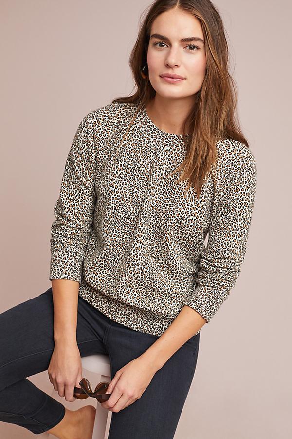 Leopard Sweatshirt - Assorted, Size S