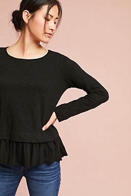 Slide View: 1: Layered Oliver Tee