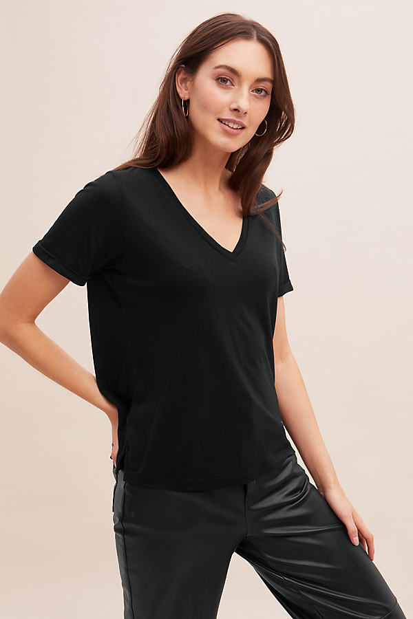 Rianne Tee - Black, Size Uk 16