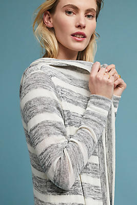 Slide View: 1: Clare Striped Cardigan