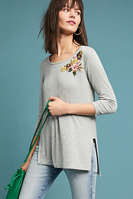Slide View: 1: Cranbourne Embroidered Tunic