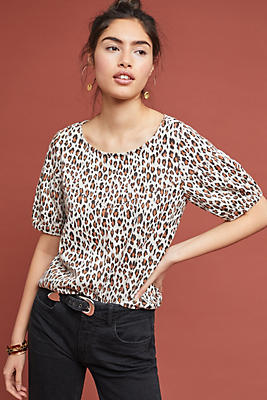 Slide View: 1: Fiona Leopard Top