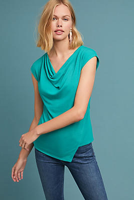 Slide View: 1: Mercer Cowl-Neck Top