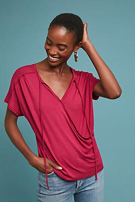Slide View: 1: Amelia Wrap Top
