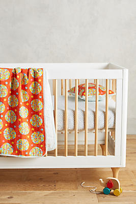 Slide View: 1: Kantha Toddler Quilt & Playmat