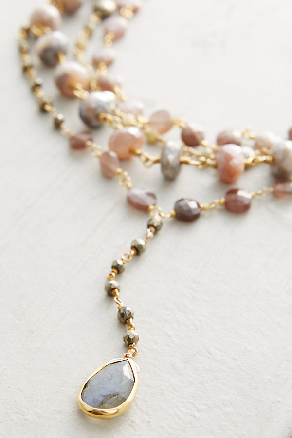 Slide View: 2: Layered Trio Necklace