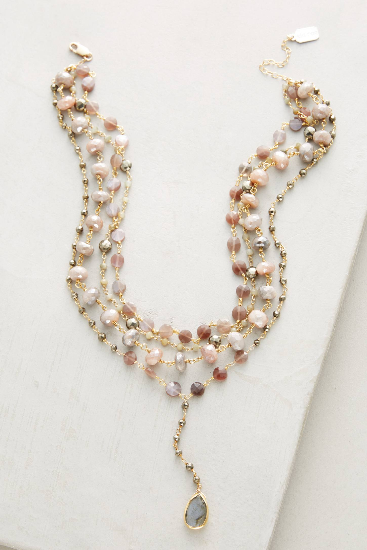 Slide View: 1: Layered Trio Necklace
