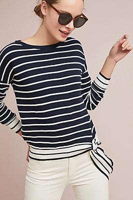 Slide View: 1: Audrey Striped Top
