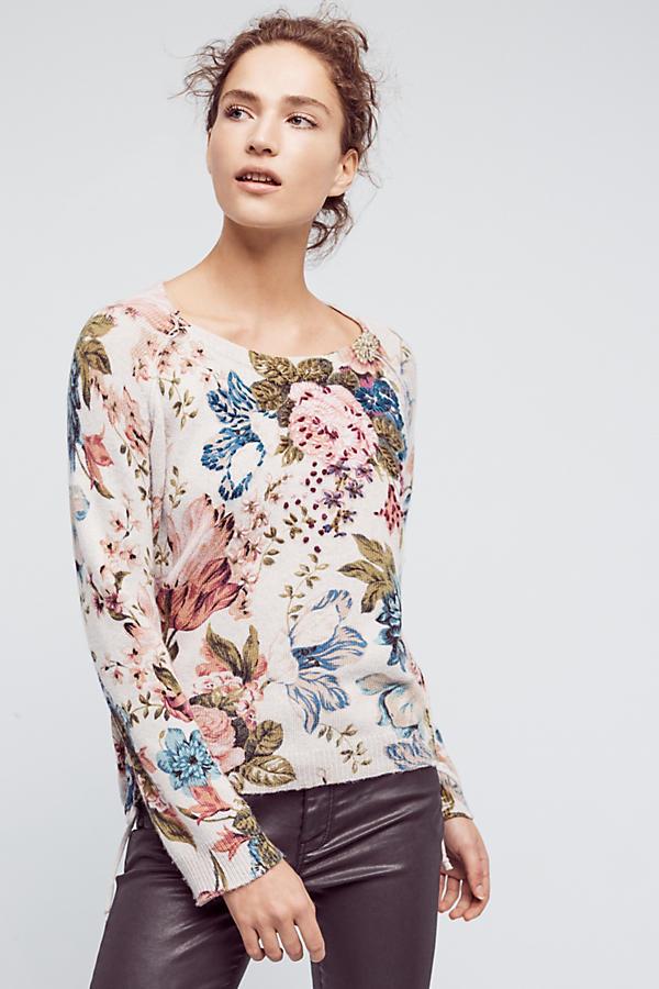 Winter Bouquet Pullover