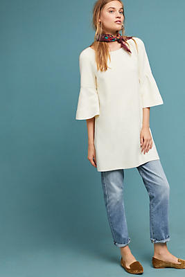 Slide View: 1: Chester Bell-Sleeved Tunic