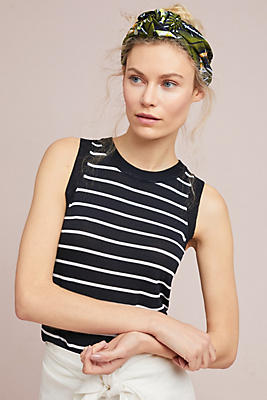 Slide View: 1: Martina Striped Tank