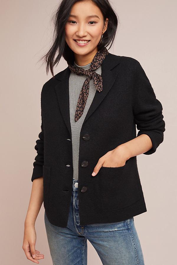 Sandy Military Jacket - Black, Size Xs