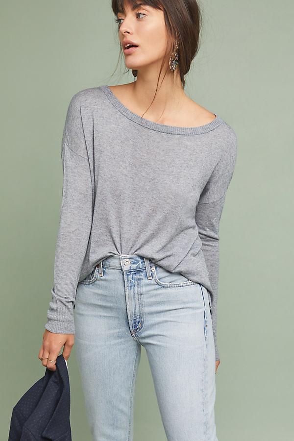 Dauphine Sweater - Grey, Size M