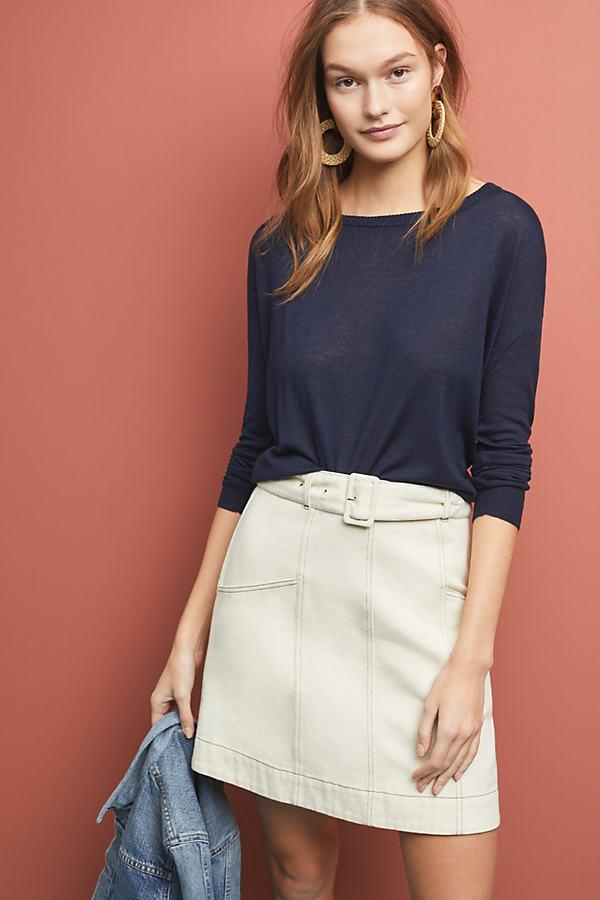 Dauphine Sweater - Navy, Size M