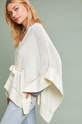 Slide View: 1: Frisco Belted Poncho