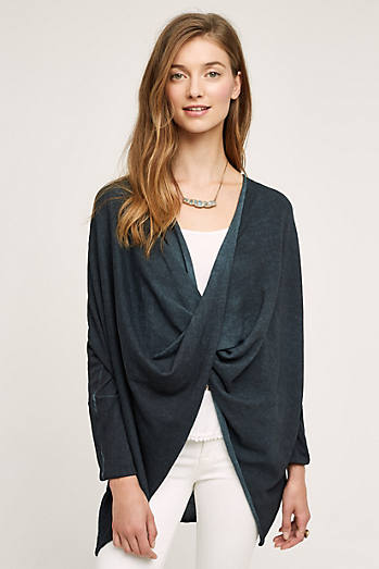Wrap-Front Pullover