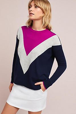 Slide View: 1: Lark Colorblock Pullover