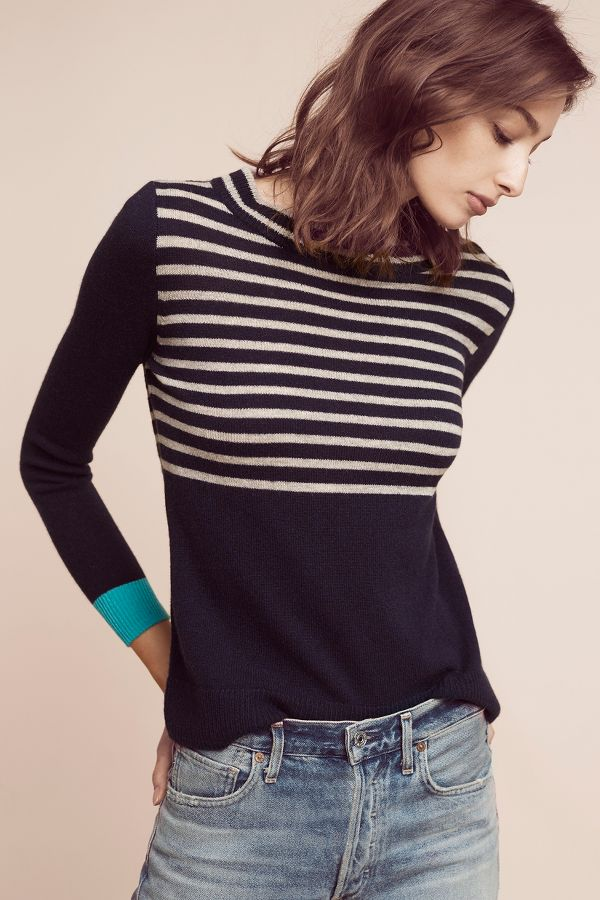 Needle Grace Cashmere Pullover