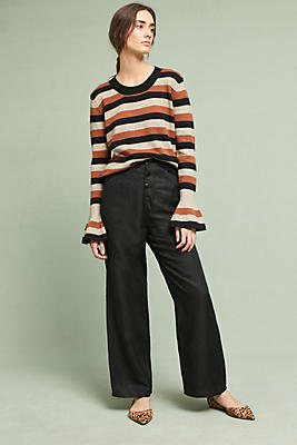 Slide View: 3: Burkhart Striped Pullover