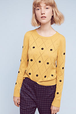 Diamond Daisy Pullover