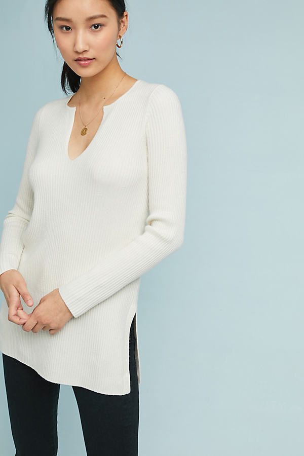 Amrita Tunic - White, Size Xl