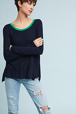 Slide View: 1: Shaw Swing Pullover