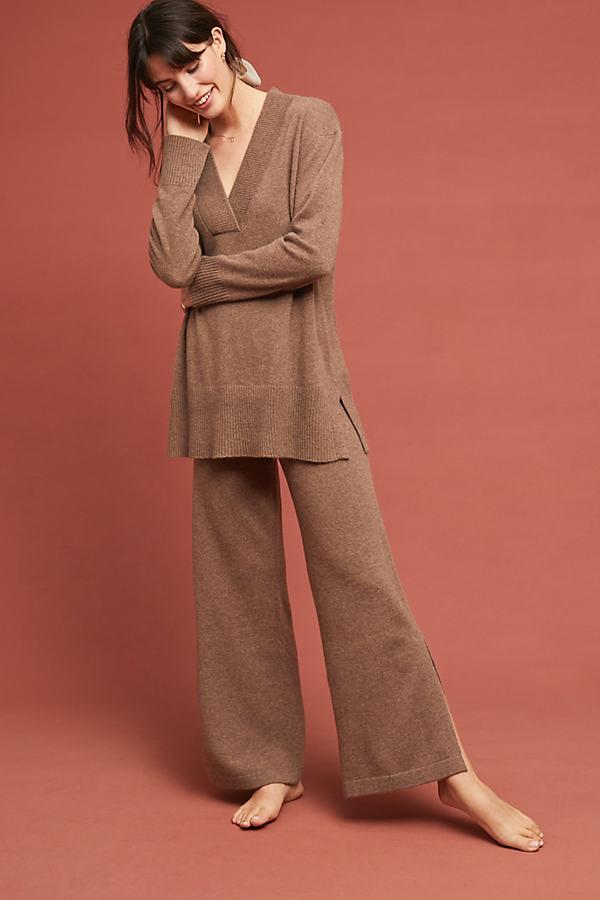 Cashmere Tunic - Beige, Size M