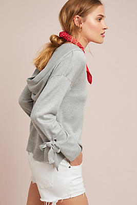 Slide View: 1: Amelie Hooded Sweatshirt