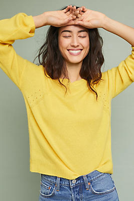 Slide View: 1: Cashmere Regency Sweater