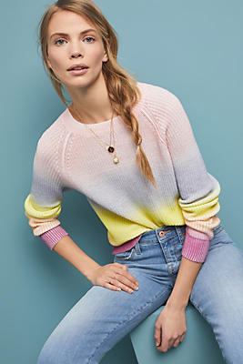 Slide View: 1: Ombre Pullover