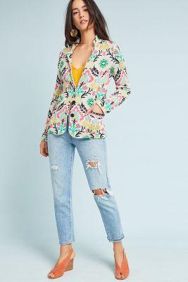 Aldomartins   Floral Intarsia Jacket  -    A/S