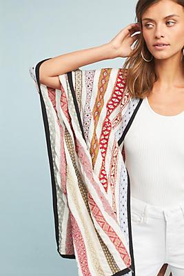 Slide View: 1: Menorca Knit Kimono