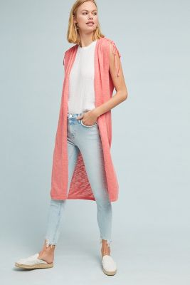 Greer Longline Cardigan by Fred And Sibel