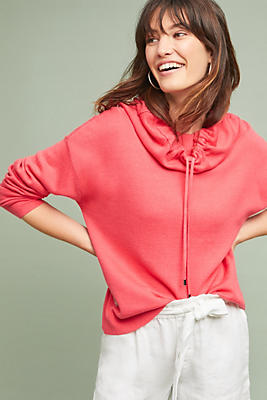 Slide View: 1: Gracie Cowl-Neck Pullover