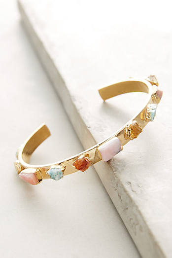 Gemstone Narrow Cuff