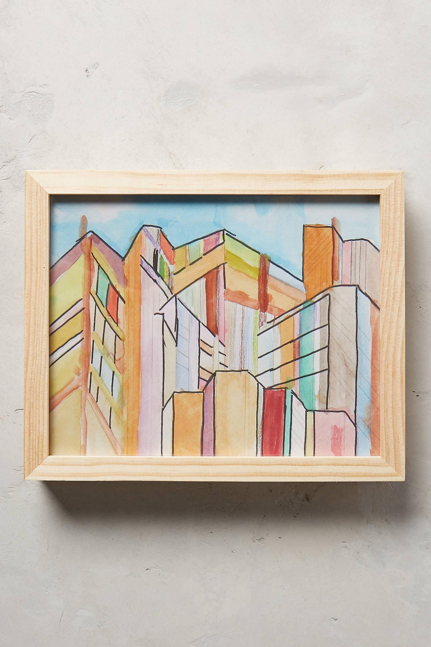 Buildings Wall Art