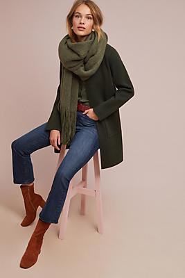 Slide View: 1: Evergreen Sweater Coat
